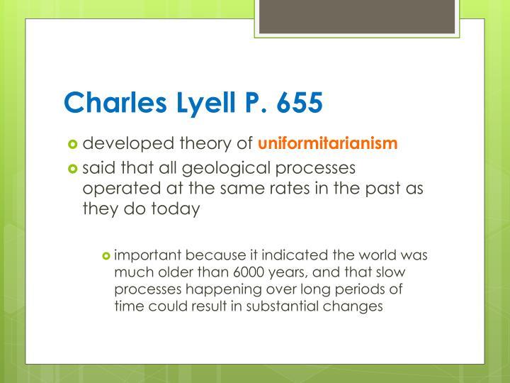 Charles Lyell P. 655