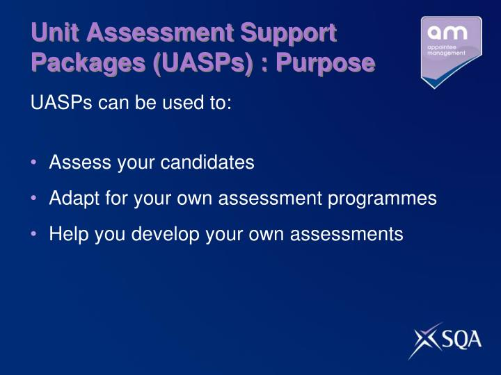 Unit Assessment Support