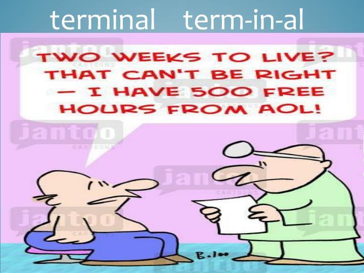 terminal    term-in-al