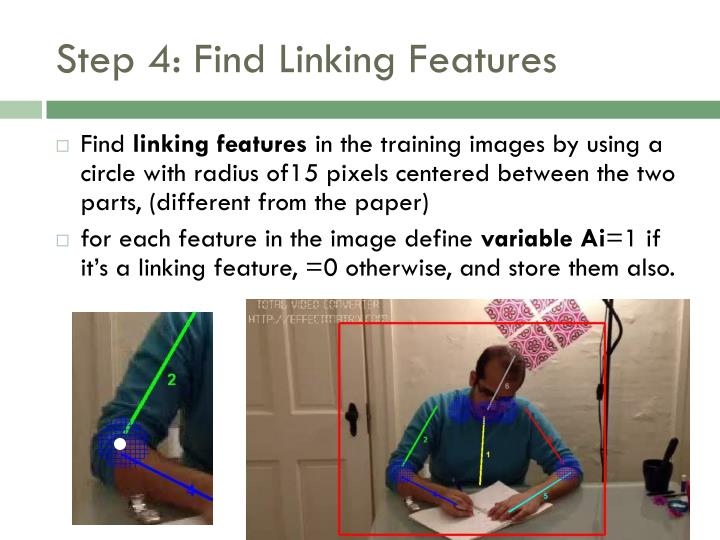 Step 4: Find Linking Features