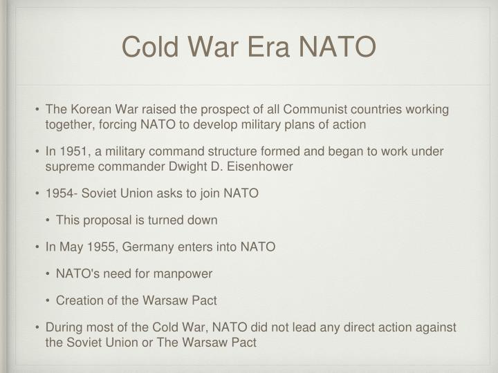 Cold War Era NATO