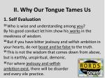 ii why our tongue tames us1