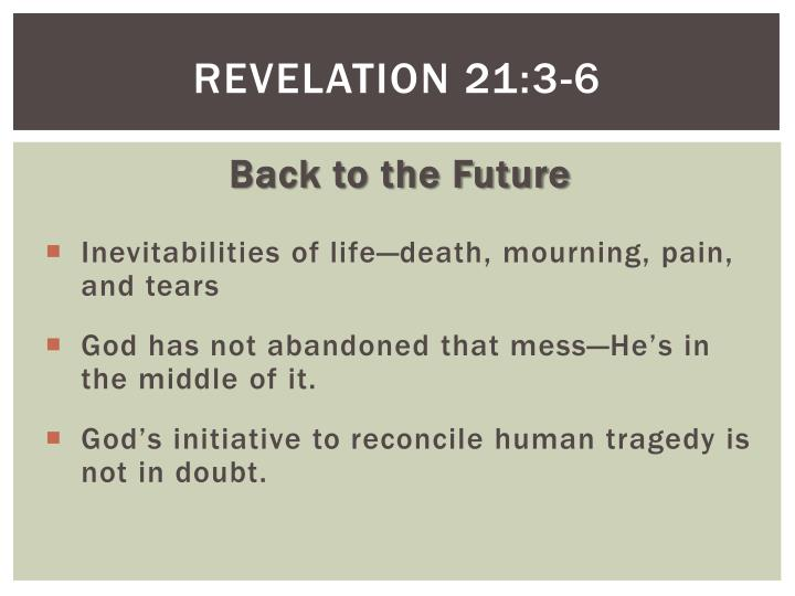 Revelation 21:3-6
