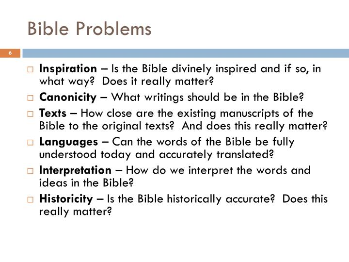 how to interpret the bible accurately