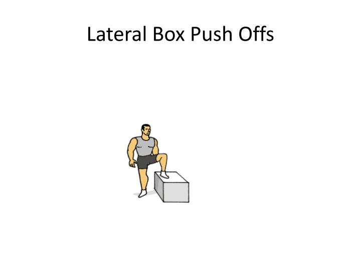 Lateral Box Push Offs