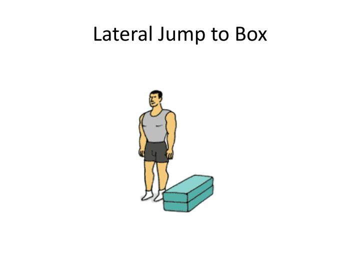 Lateral Jump to Box