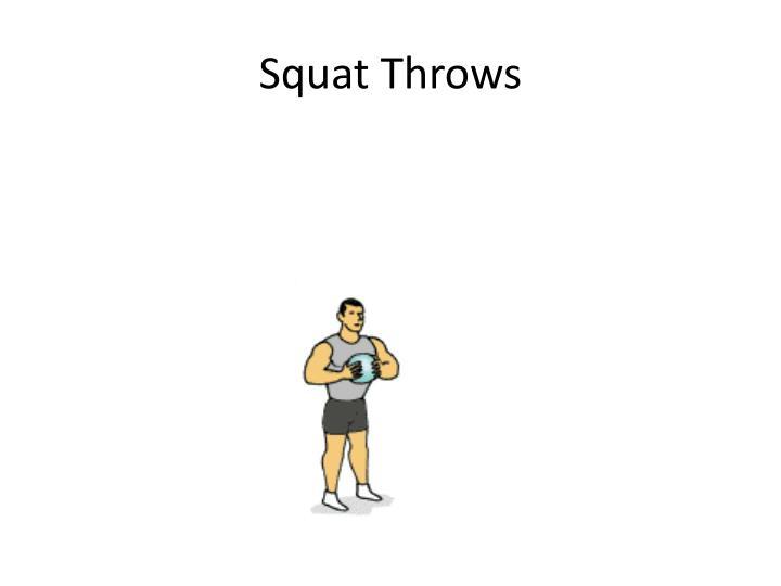 Squat Throws