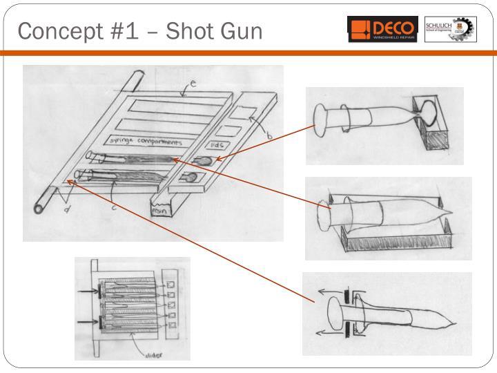 Concept #1 – Shot Gun