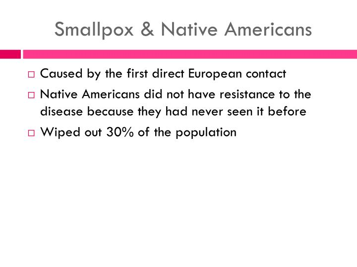 Smallpox & Native Americans
