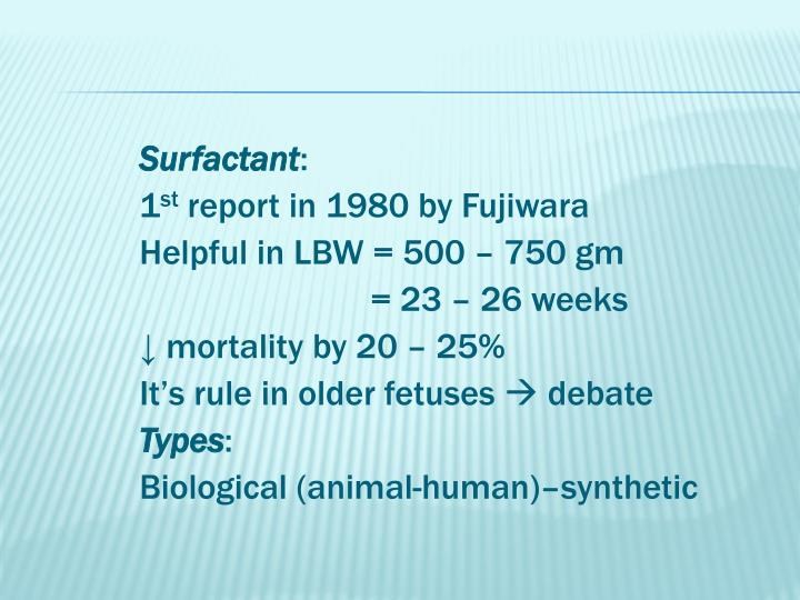 Surfactant