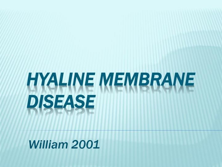 William 2001