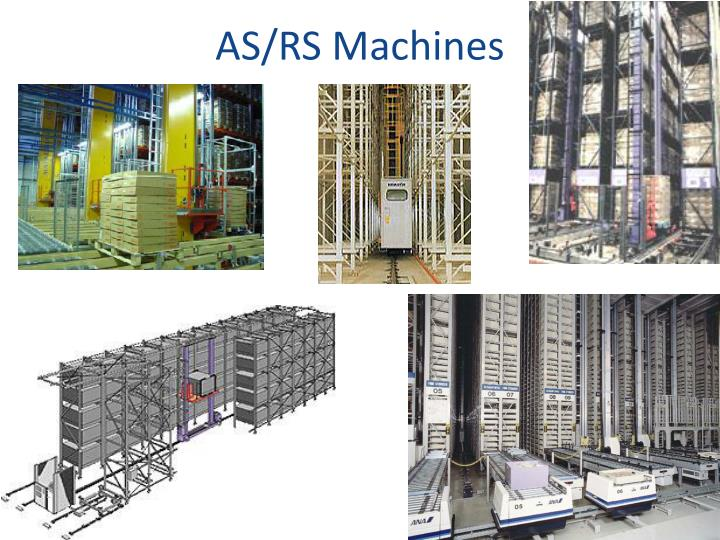 AS/RS Machines