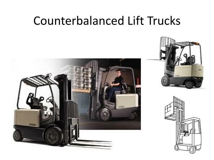Counterbalanced Lift Trucks