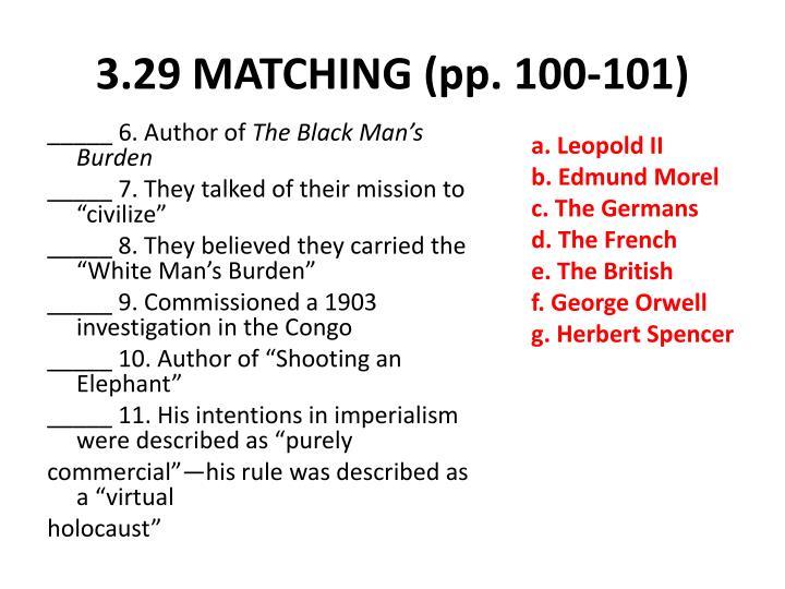 3.29 MATCHING (pp. 100-101)