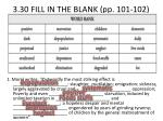 3 30 fill in the blank pp 101 102