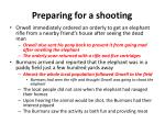 preparing for a shooting