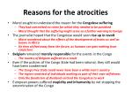reasons for the atrocities