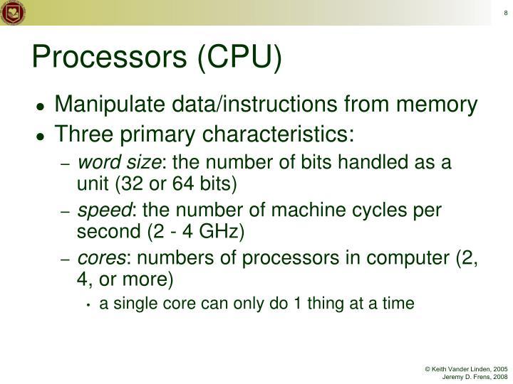 Processors (CPU)