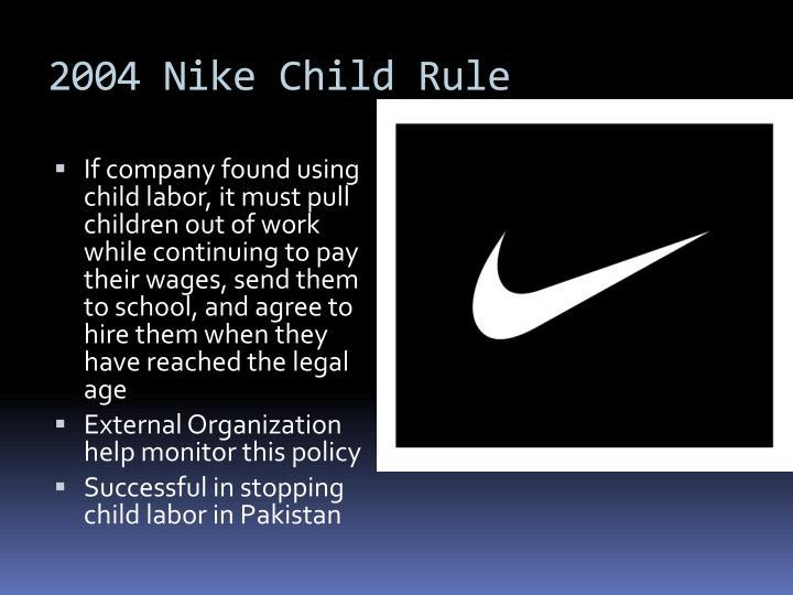 2004 Nike Child Rule