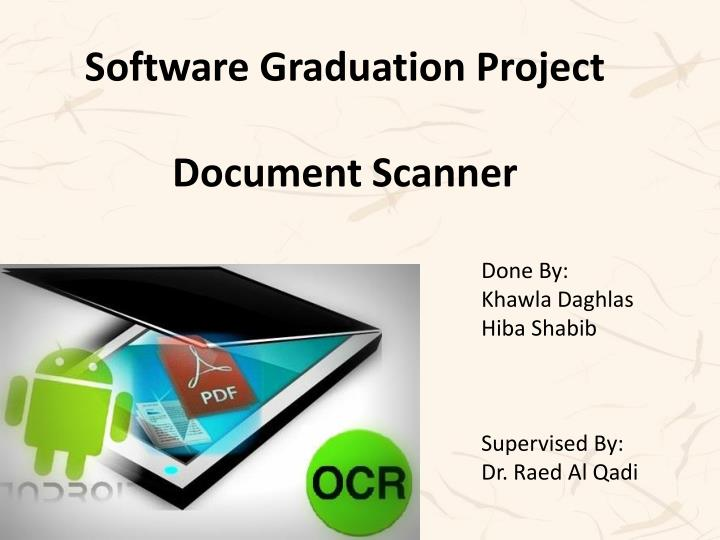 Software Graduation Project