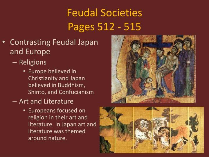 Feudal Societies