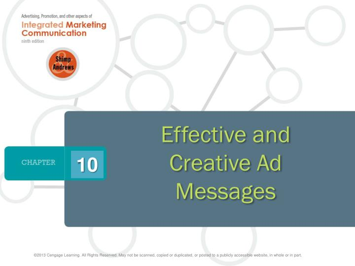 role of creativity in advertisements and