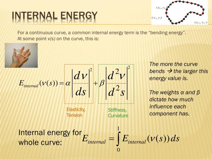 Internal energy