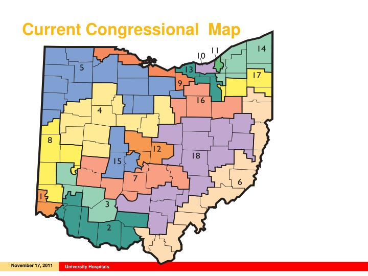 Current Congressional  Map