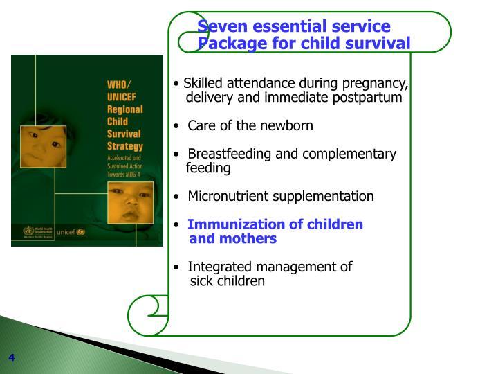 Seven essential service