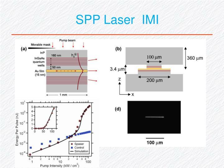 SPP Laser  IMI