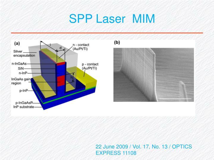 SPP Laser  MIM