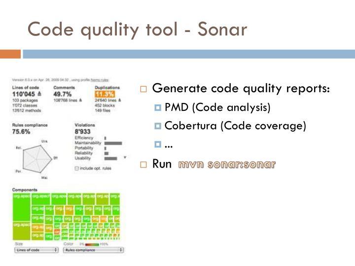 Code quality