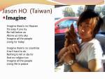 jason ho taiwan