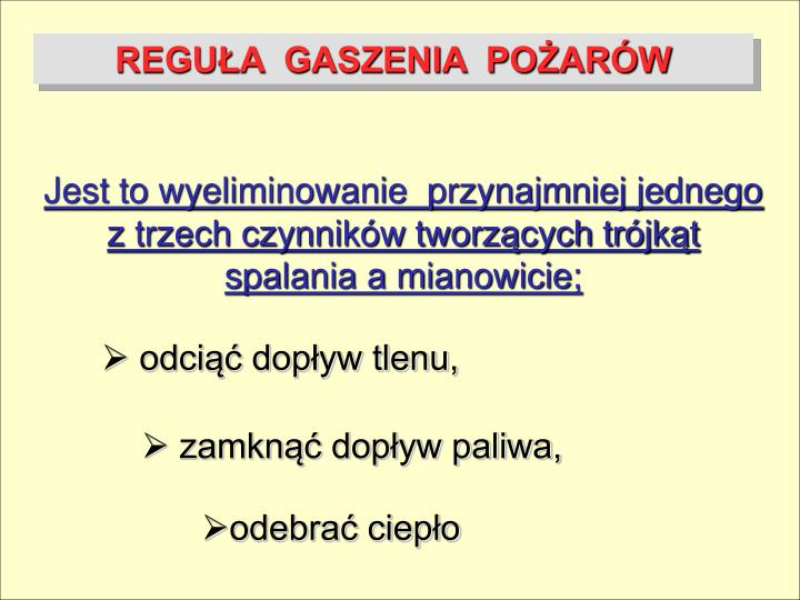 REGUA  GASZENIA  POARW