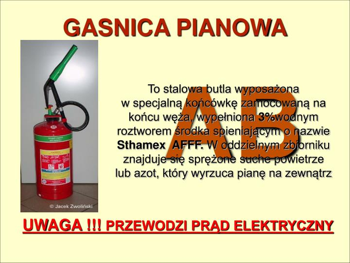GASNICA PIANOWA