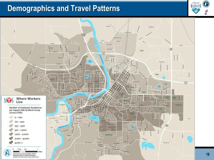 Demographics and Travel Patterns