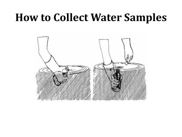 How to Collect Water Samples