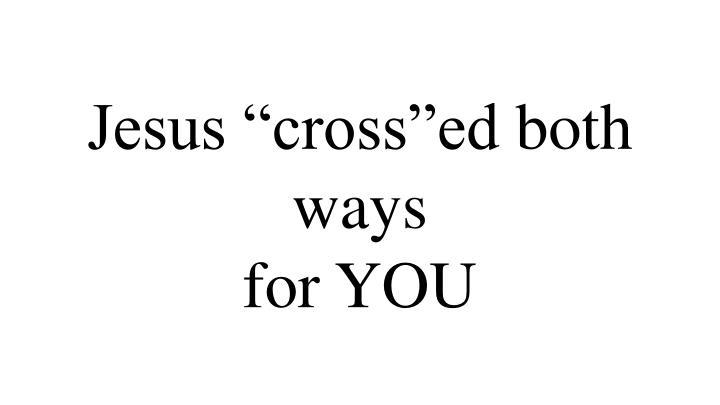 """Jesus """""""