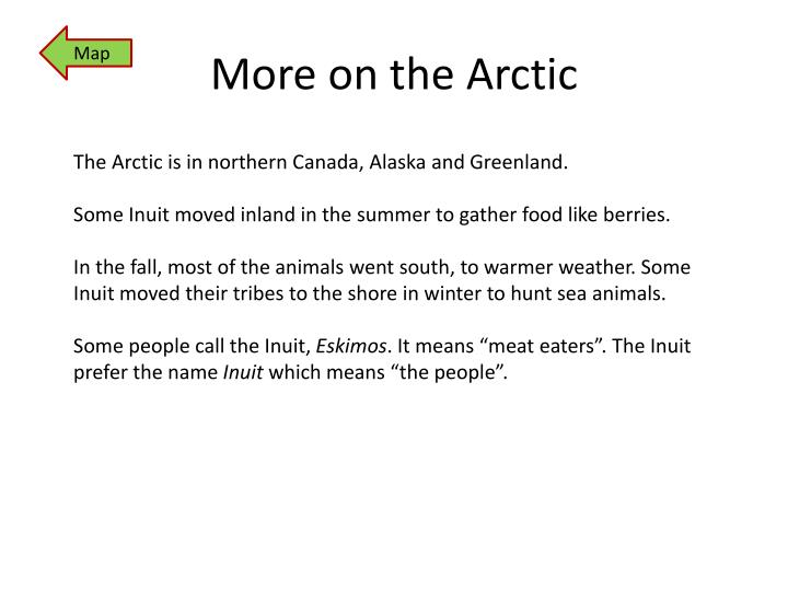 More on the Arctic