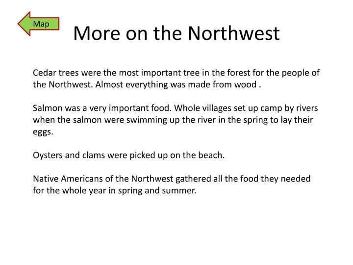 More on the Northwest
