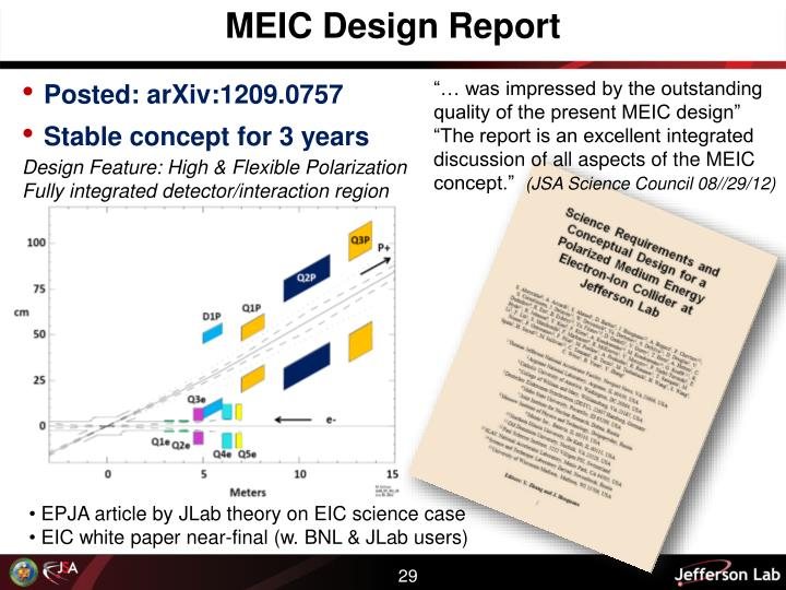MEIC Design