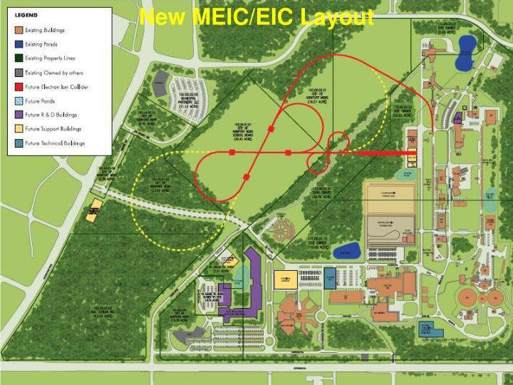 New MEIC/EIC Layout