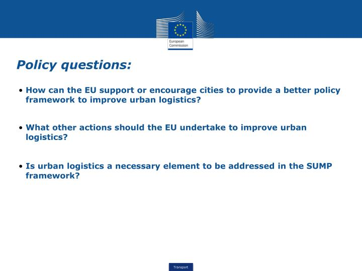 How can the EU support or encourage cities to provide a better