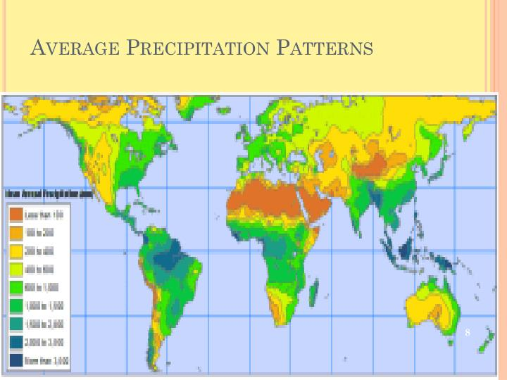 Average Precipitation Patterns