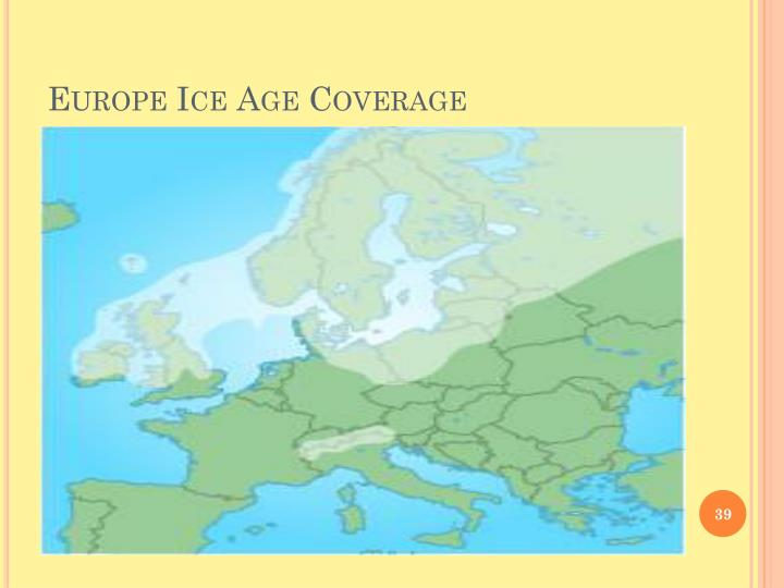 Europe Ice Age Coverage