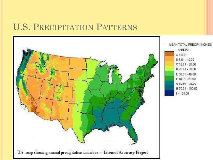 U.S. Precipitation Patterns