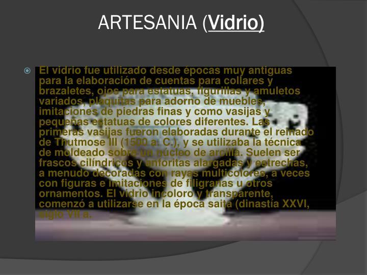 ARTESANIA (