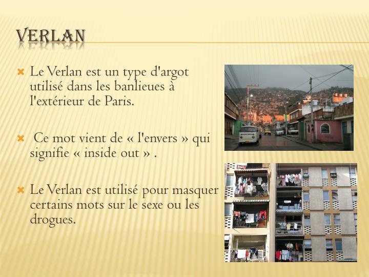 Le Verlan