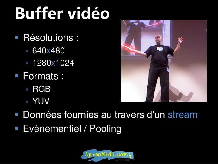 Buffer vidéo