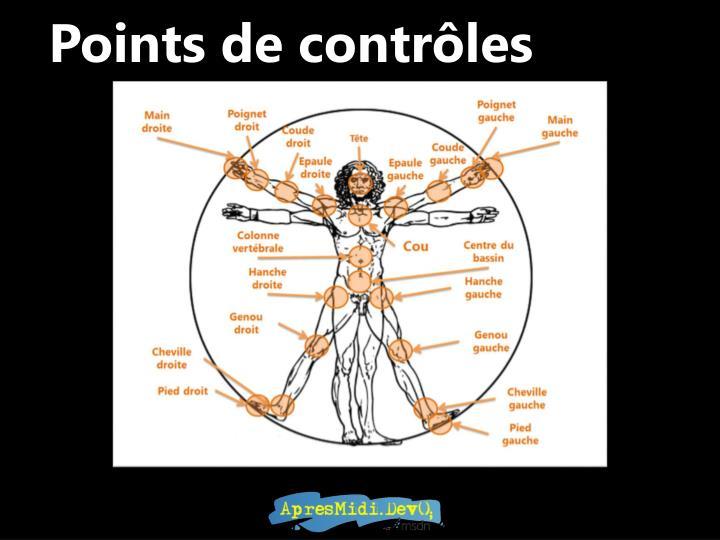 Points de contrôles